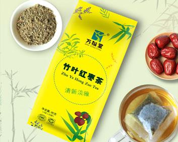 竹叶红枣茶