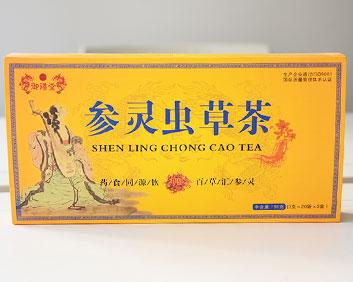 参灵虫草茶冬虫夏草万松堂贴牌OEM厂家生产养生袋泡茶加工