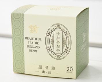 清肺养颜治咳嗽茶万松堂贴牌OEM厂家生产养生袋泡茶加工