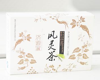 送礼品微商定制炒作风灵茶万松堂贴牌OEM厂家生产养生袋泡茶加工
