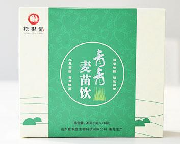 万松堂贴牌OEM青青麦苗饮减肥瘦身排毒养生袋泡茶加工