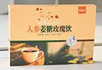 万松堂贴牌OEM草本人参姜糖玫瑰饮正品厂家生产养生袋泡茶加工