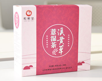 万松堂贴牌OEM溪黄草薏湿茶祛湿驱寒养生袋泡茶加工