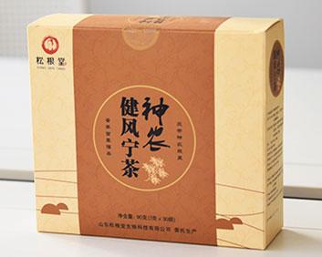治痛风康风宁建风宁茶万松堂贴牌OEM厂家生产养生袋泡茶加工