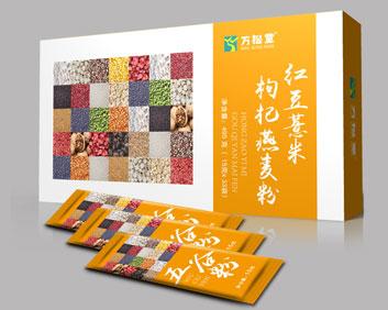 红豆薏米枸杞燕麦粉外盒小袋组合OEM袋泡茶五谷粉厂家贴牌