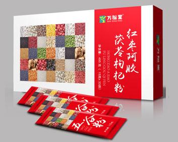 红枣阿胶茯苓枸杞粉外盒小袋组合OEM袋泡茶五谷粉厂家贴牌