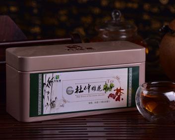 杜仲雄花补肾铁罐系列袋泡茶OEM厂家(可贴牌代加工)