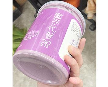 紫色罐装代餐粥魔芋片