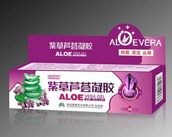健滋宝-紫草芦荟凝胶