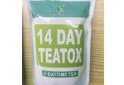 出口14天排毒减肥茶去脂肪非洲英文包装批发定制三角包