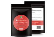 出口28天排毒减肥茶英文包装批发定制