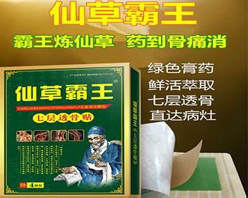 仙草霸王:绿膏药(试用贴免费送,保证疗效)