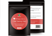28days slimming tea排毒减肥英文出口OEM贴牌定制