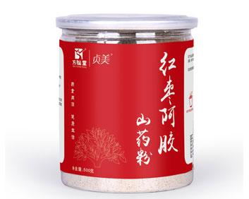 五谷磨粉OEM贴牌代加工红枣阿胶山药粉