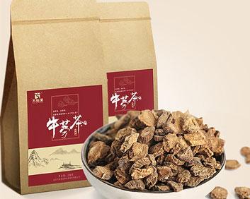 牛蒡茶非特级黄金牛膀牛棒牛磅旁养生茶功效