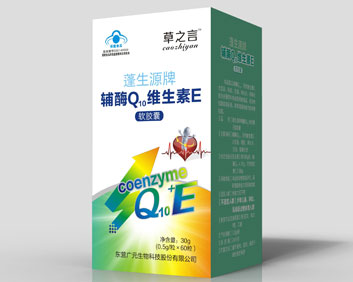 辅酶Q10维生素E软胶囊瓶装..