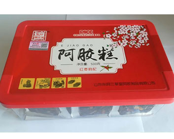 红枣枸杞阿胶糕..