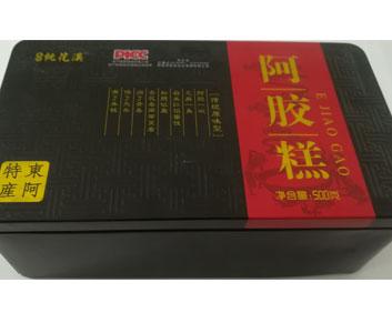 铁盒传统原味阿胶糕500克..