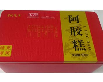 铁盒红枣枸杞阿胶糕500克..