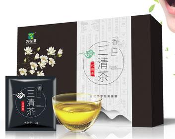 治疗口苦口臭清除异味根治中草药配方香口三清茶