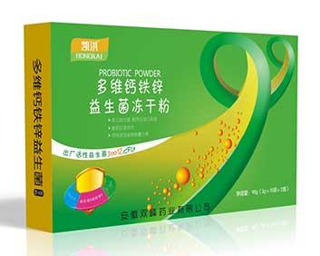 多维钙铁锌益生菌冻干粉