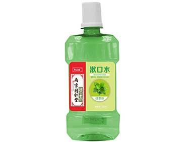 漱口水绿茶味