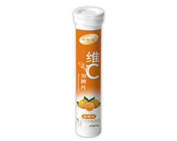 维C甜橙味泡腾片