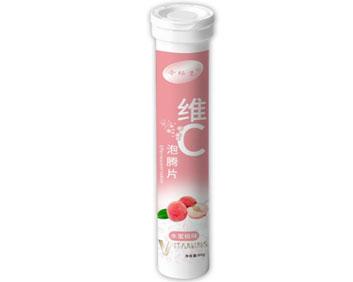 维C水蜜桃味泡腾片