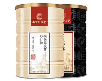 南京同仁堂黑芝麻核桃黑豆粉粥糊营养食品早餐代餐粉猴头菇杏仁粉