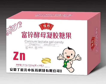 桂彤富锌酵母凝胶糖果