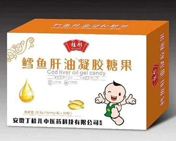 桂彤鳕鱼肝油凝胶糖果