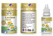 美国原装进口派克熊复配乳化剂(乳糖酶滴剂)