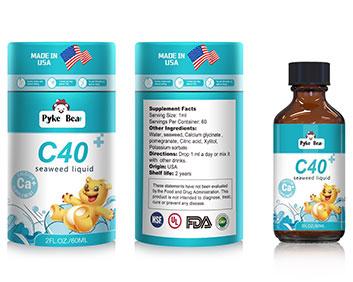 美国原装进口派克熊海藻钙滴剂