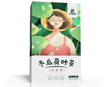 冬瓜荷叶茶新清减瘦草本茶袋泡茶养生茶厂家oem代工
