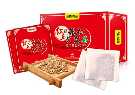 1168医药保健品网-【红豆薏仁芡实茶代用茶】招商代理彩页