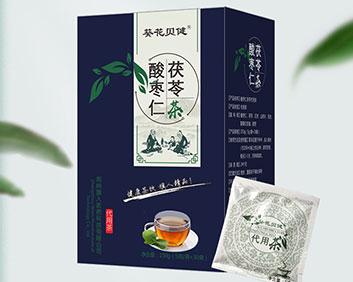 葵花贝健酸枣仁茯苓茶