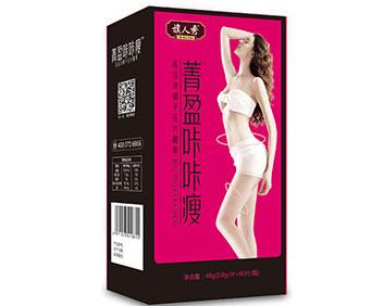 菁盈咔咔瘦苦瓜决明子压片糖果(红盒)