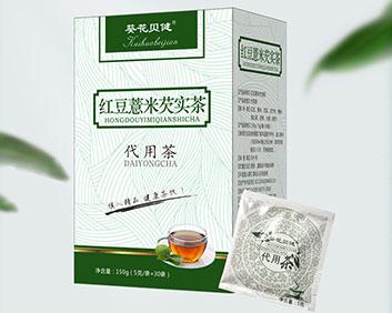 葵花贝健红豆薏米芡实茶
