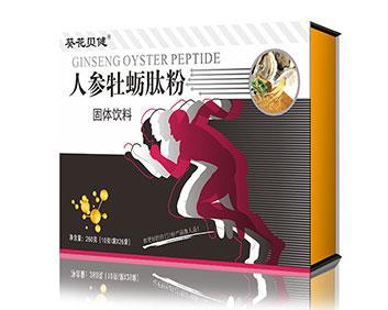 人参牡蛎肽粉固体饮料