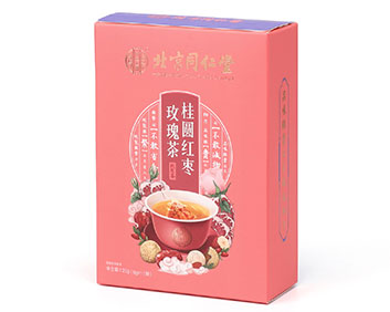 桂圆红枣玫瑰茶