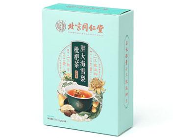 胖大海雪梨枇杷茶
