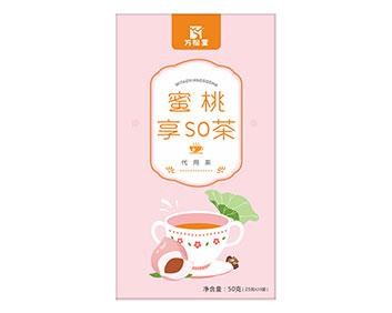 蜜桃享so茶夏天袋泡茶美颜排毒瘦身减肥茶oem厂家