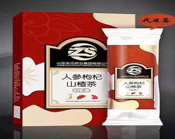 人参枸杞山楂茶