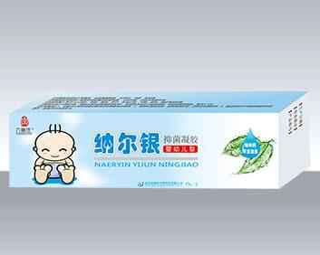 纳尔银抑菌凝胶