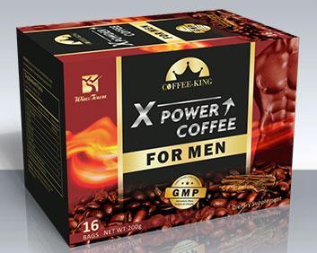 Xpower男性咖啡出口外贸产品英文包装