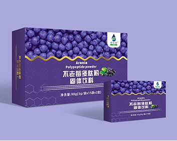 不老莓多肽粉固体饮料