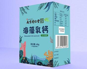 海藻乳钙压片糖果48g