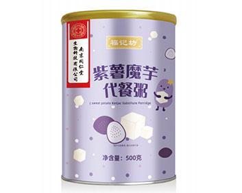 南京同仁堂紫薯魔芋代餐粥