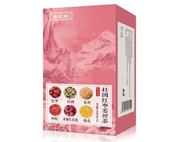 南京同仁堂桂圆红枣姜丝茶
