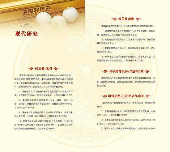 1168医药保健品网-【清宫寿桃丸】招商代理彩页
